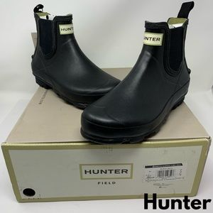Hunter Ankle Boots | Womens Norris Chelsea | Blk